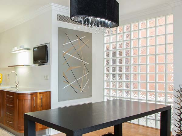 Residential Glass Block Wall