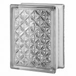 "3"" Thinline® Series clear Aktis glass blocks with 6""x8""x3"