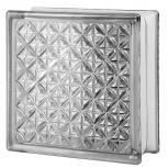 "3"" Thinline® Series clear Aktis glass blocks with 8""x8""x3"