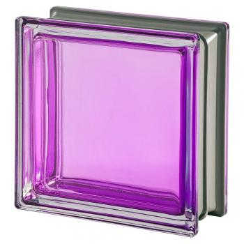 Mendini Tormalina Glass purple of the 19x19x8