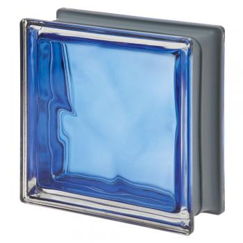 Deep Blue Color Collection: Cobalto 19x19x8 cm Glass Blocks