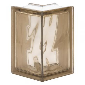 90 EC Design Line: Pegasus Siena Wave Corner glass block