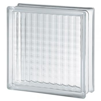 "Cross Large clear glass 4"" Premiere™ Series 12""x12""x4"""
