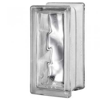 "4 Premiere™ Series Nubio clear glass blocks 4""x8""x4"""