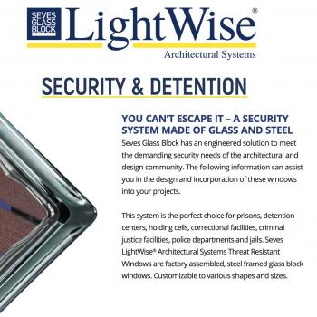 Security and Detention Glass Block