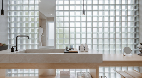 Glass Block - 2020 home design trends