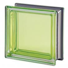 Mendini Berillo Glass Block Green