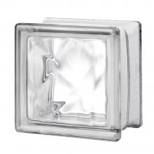 "4 Premiere™ Series Nubio clear glass blocks 6""x6""x4"""