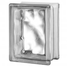 "4 Premiere™ Series Nubio clear glass blocks (6""x8""x4"""