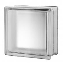 "4"" Premiere™ Series Arctic clear glass blocks 8""x8""x4"""