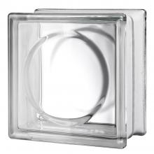 Alpha clear glass block