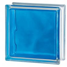Blue glass blocks of Brilly