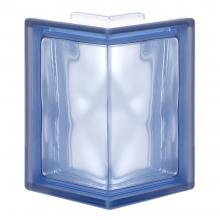 90 EC 1S Pegasus Blue Wave Corner glass block